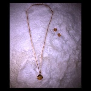 Beautiful Rose Gold Swarovski Crystal Set